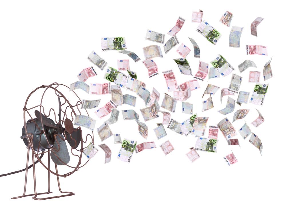 Geld ventilator