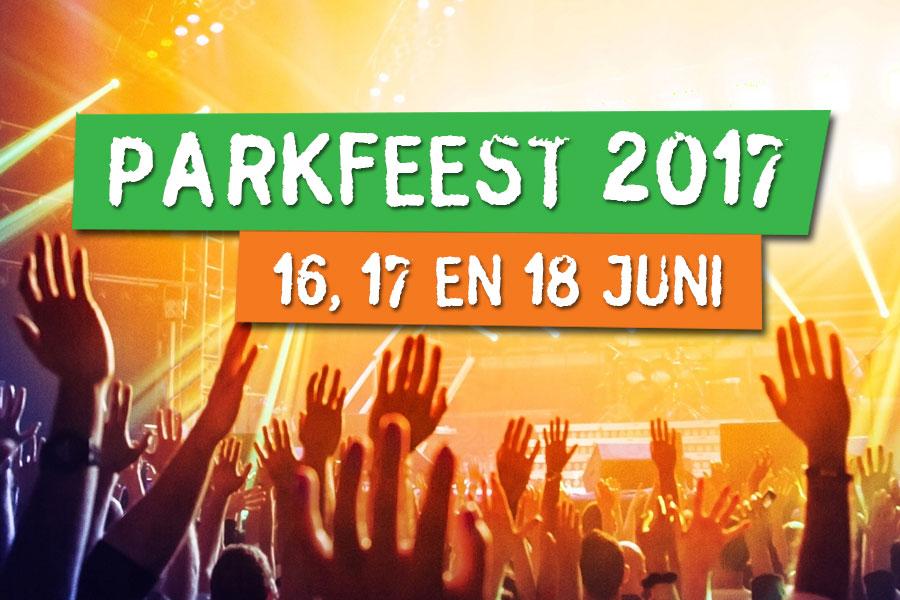 Parkfeest 2017 - 16, 17 en 18 juni